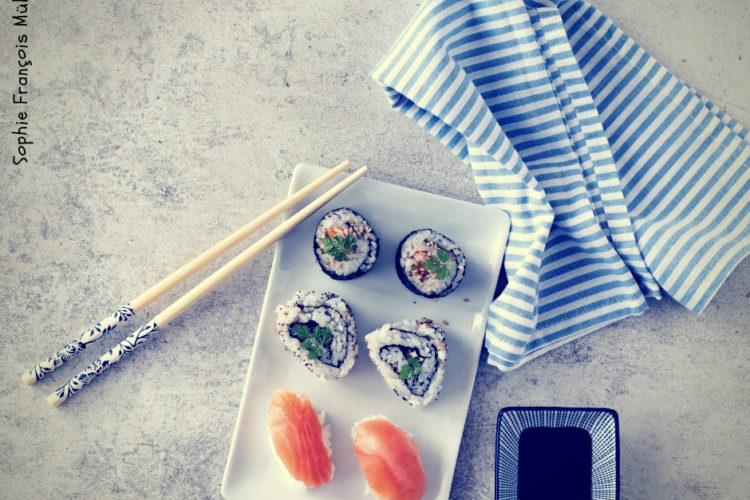 Cours cuisine sushis makis california rolls