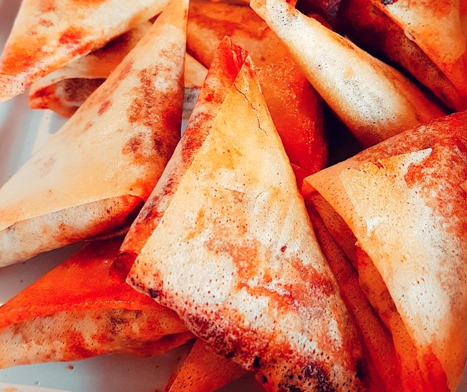 Cuisine traiteur samoussas boeuf