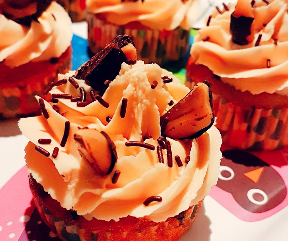 Patisserie traiteur cupcakes caramel