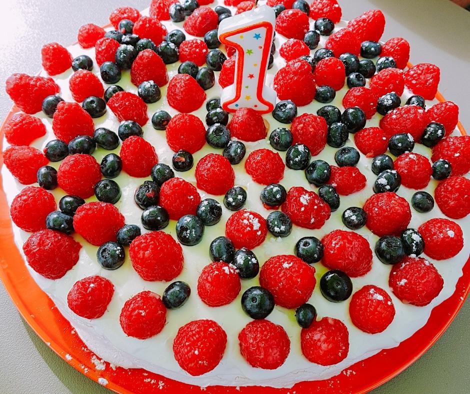Traiteur pavlova fruits rouges