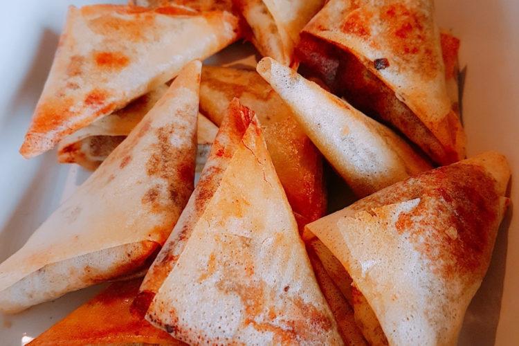Cours cuisine samoussas chorizo poivrons safran