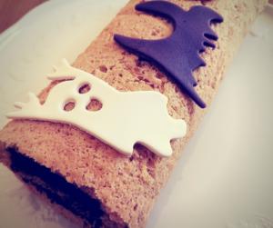 Gâteau roulé Halloween @ J CUISINE