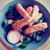 Cours cuisine sticks mozzarella parmesan