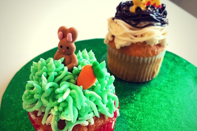 Cours patisserie enfants cupcakes paques
