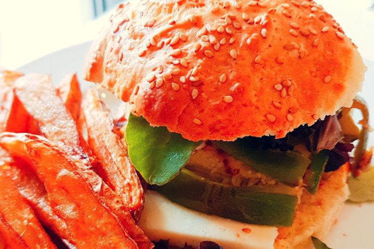 Cours cuisine burger poulet tomme brebis