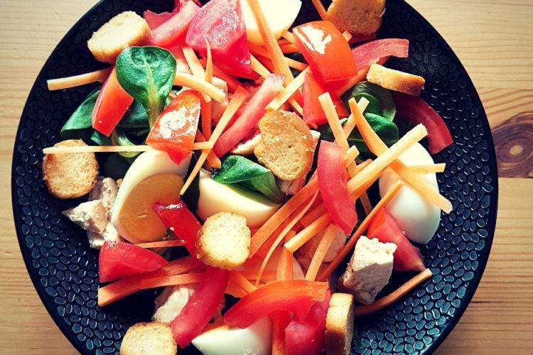 Cours cuisine salade vegetarienne