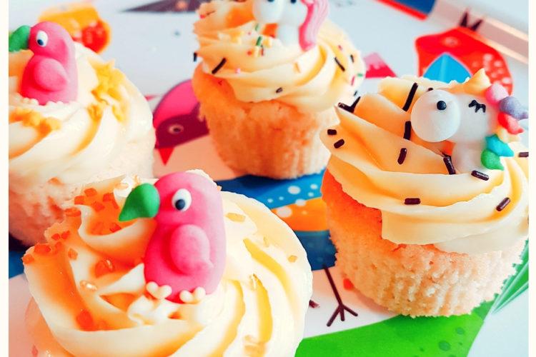 Cours patisserie enfants cupcakes licornes