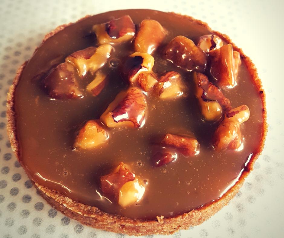 Cours patisserie tartelette chocolat noix