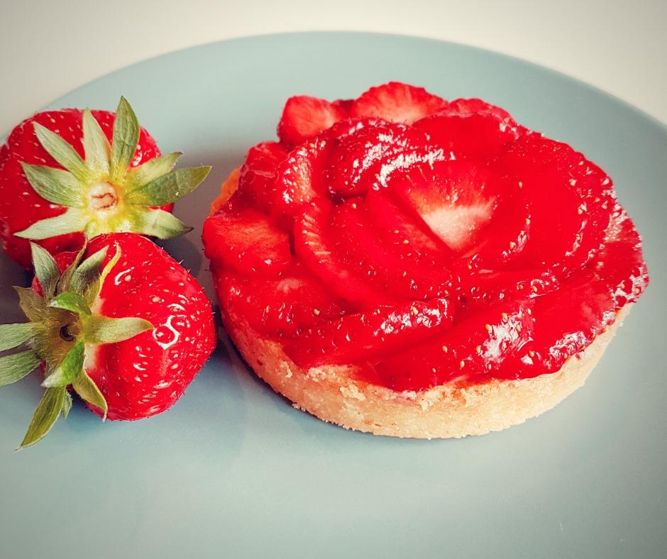 Cours patisserie tartelettes fraises basilic