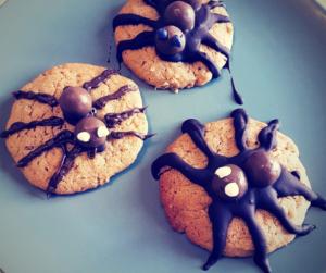 Cookies araignées @ J CUISINE