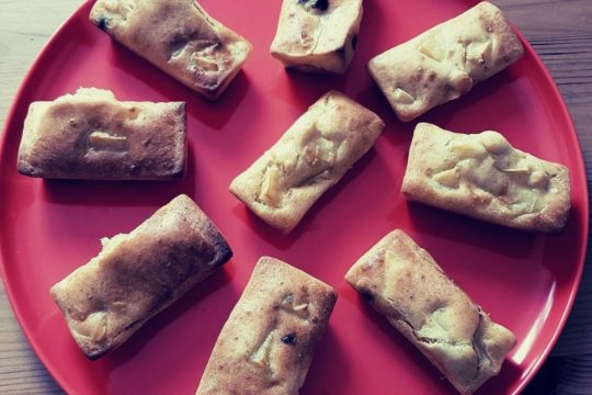 Cours patisserie moelleux pommes sans sucre