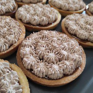 Cours patisserie tartelettes caramel passion